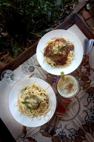 Vegansk pasta från Earth Tone